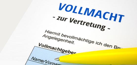 Bankvollmacht Inkl Muster Vollmacht Ihk Notfall Handbuch